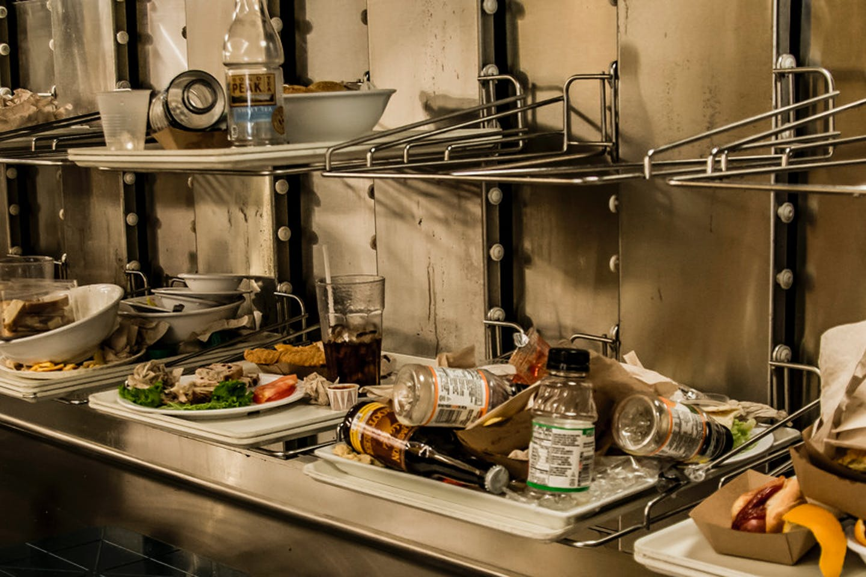 food waste exhibit