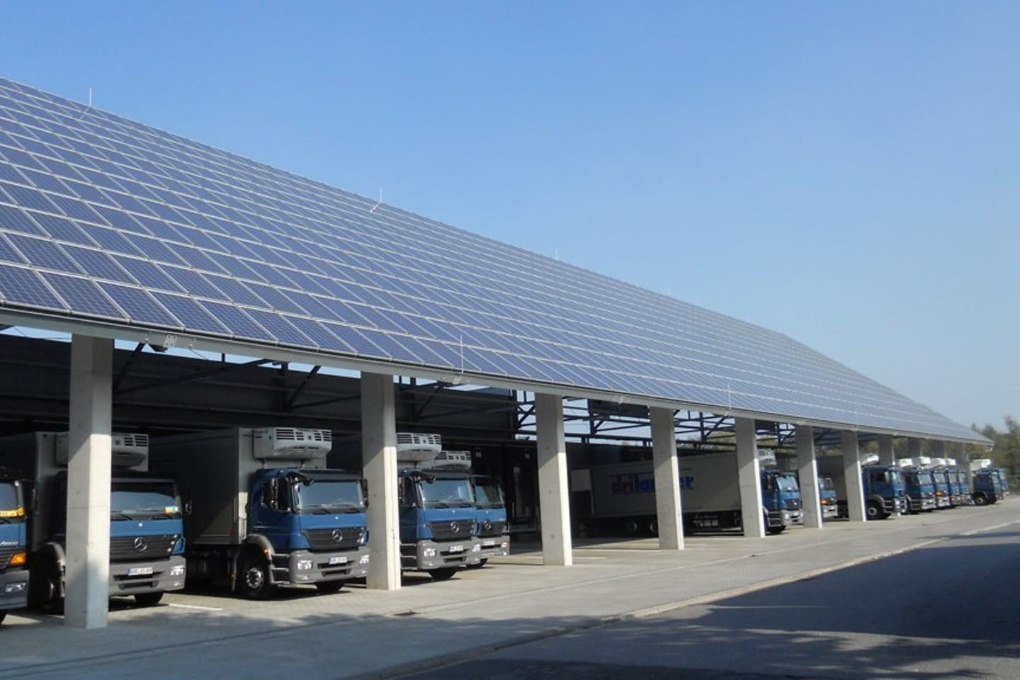 german solar panels trucks