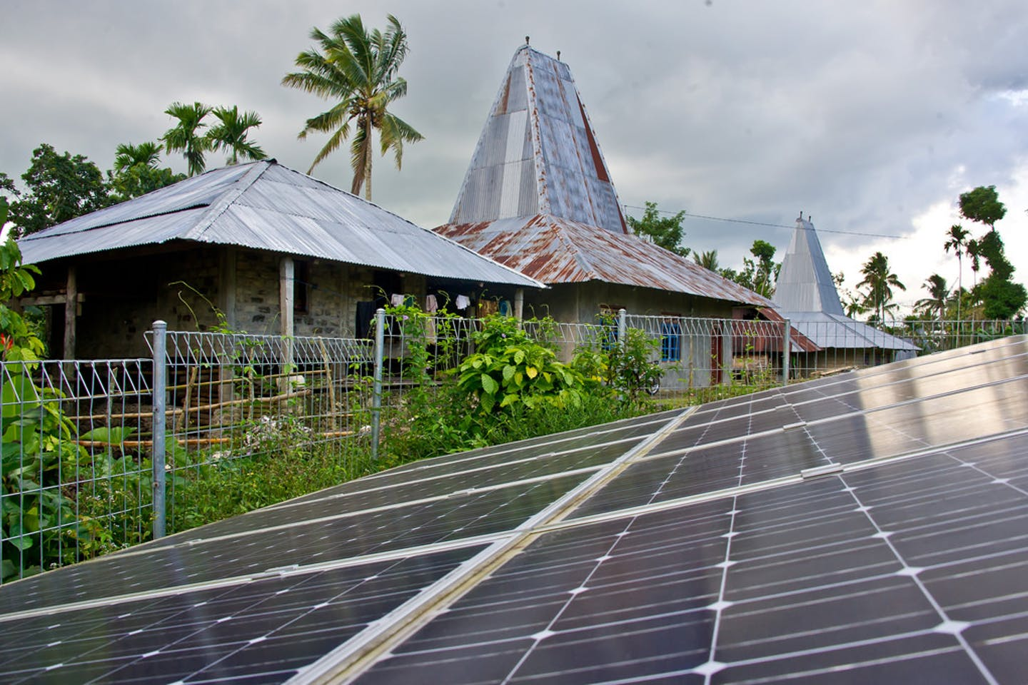 solar panels indonesia