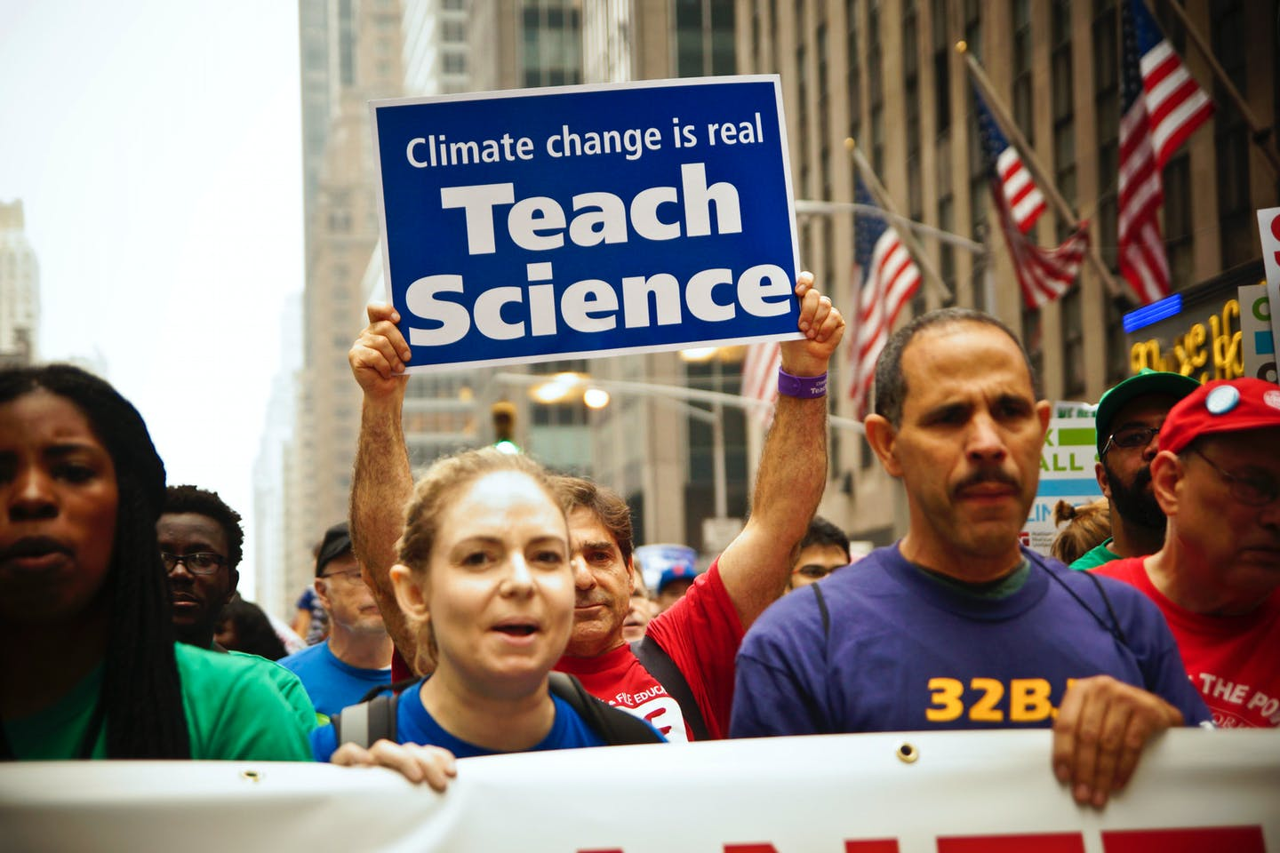 people's climate march teach science