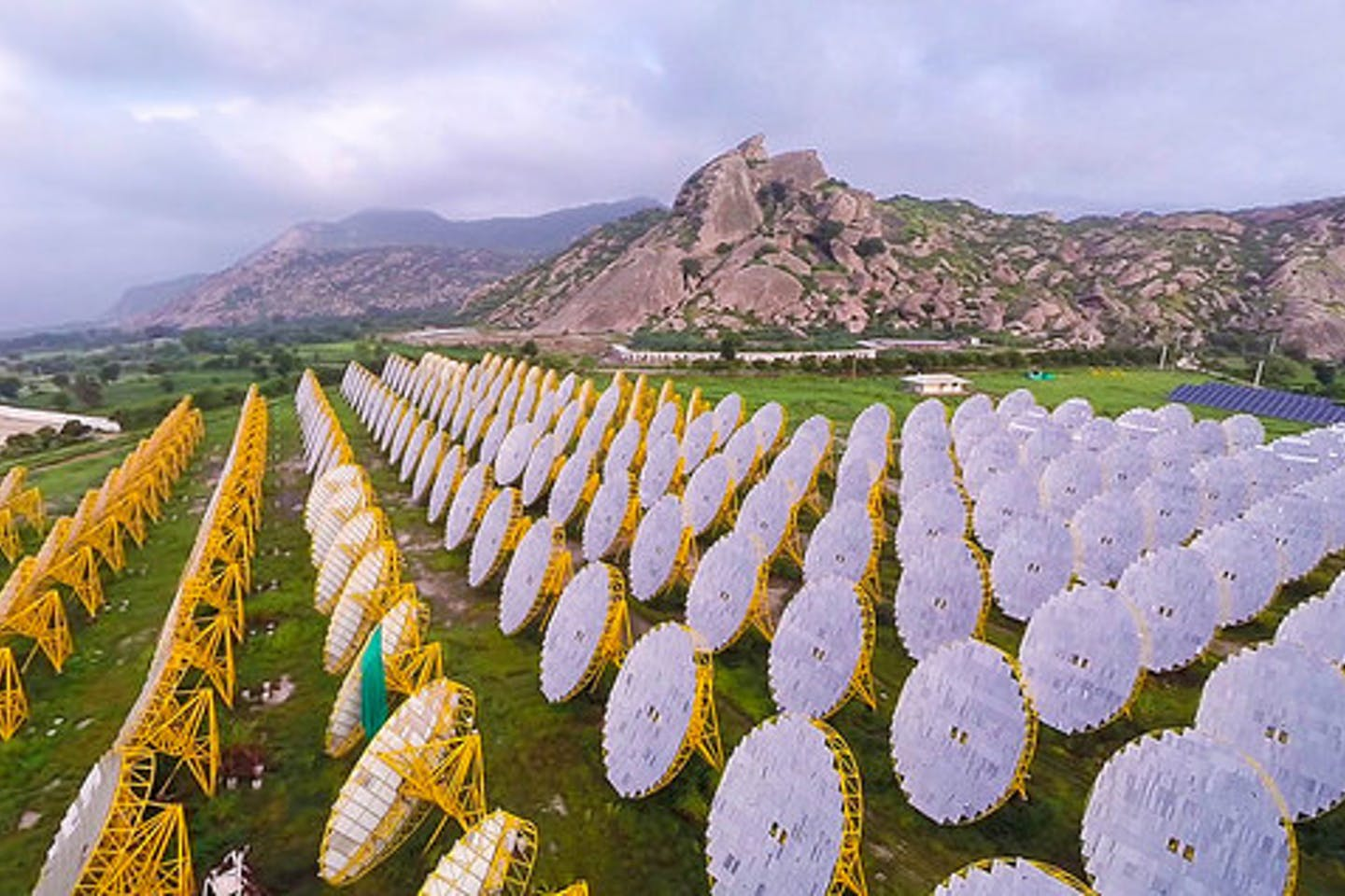 Solar thermal plant in India