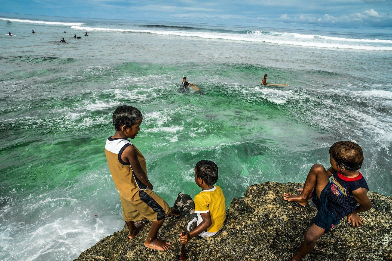 pacific island children