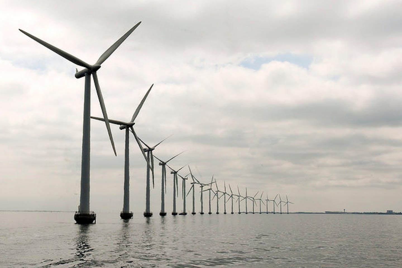 Middlegruden offshore wind farm