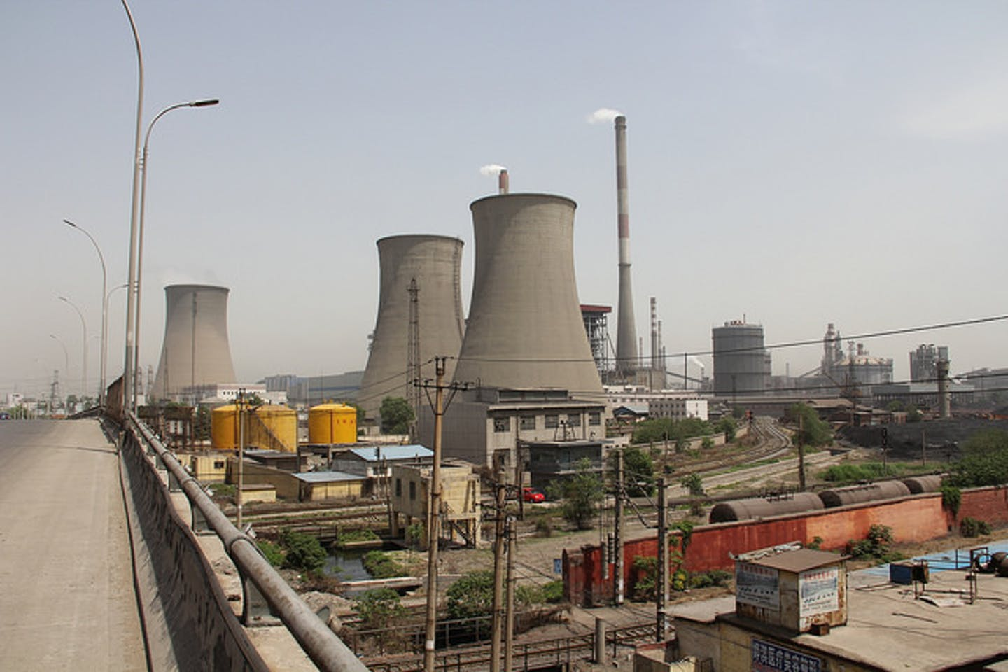 coal-fired electric plant in Henan China