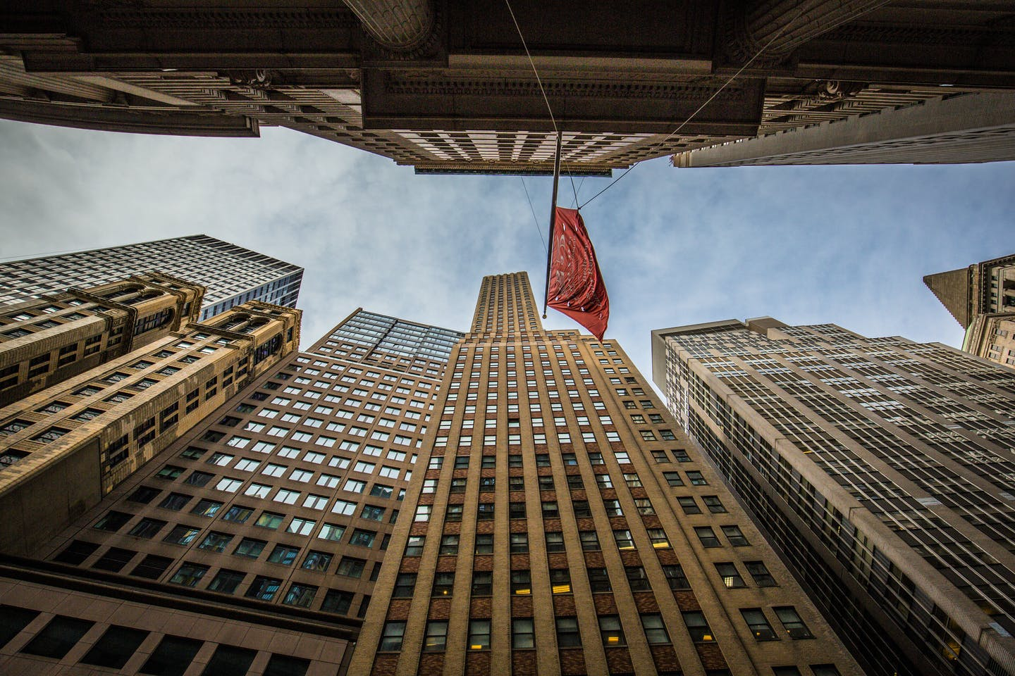 A ground up view of Wall Street