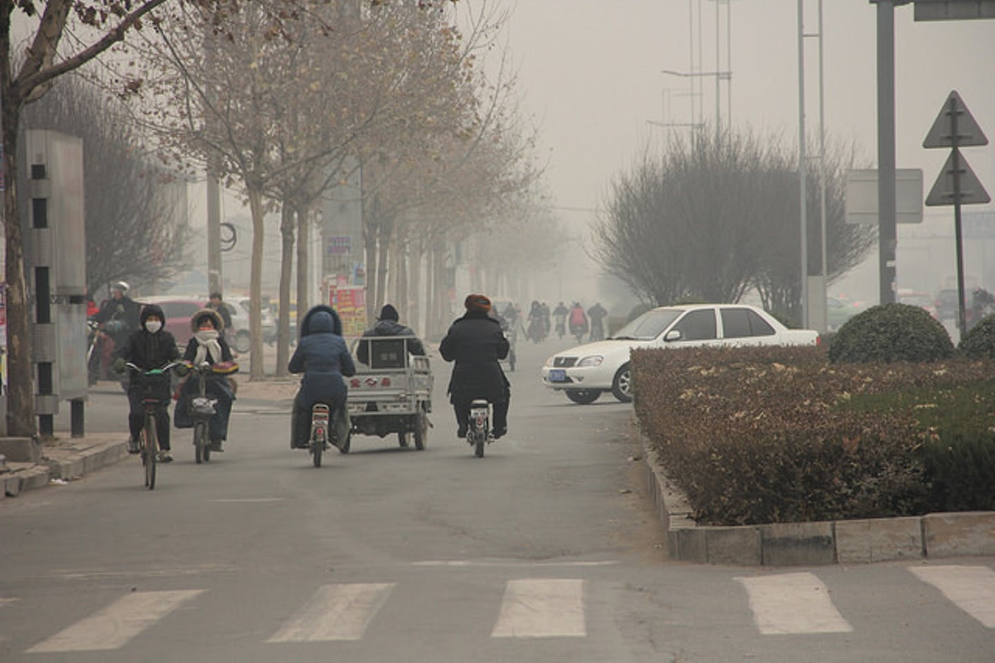 pollution in China due to coal