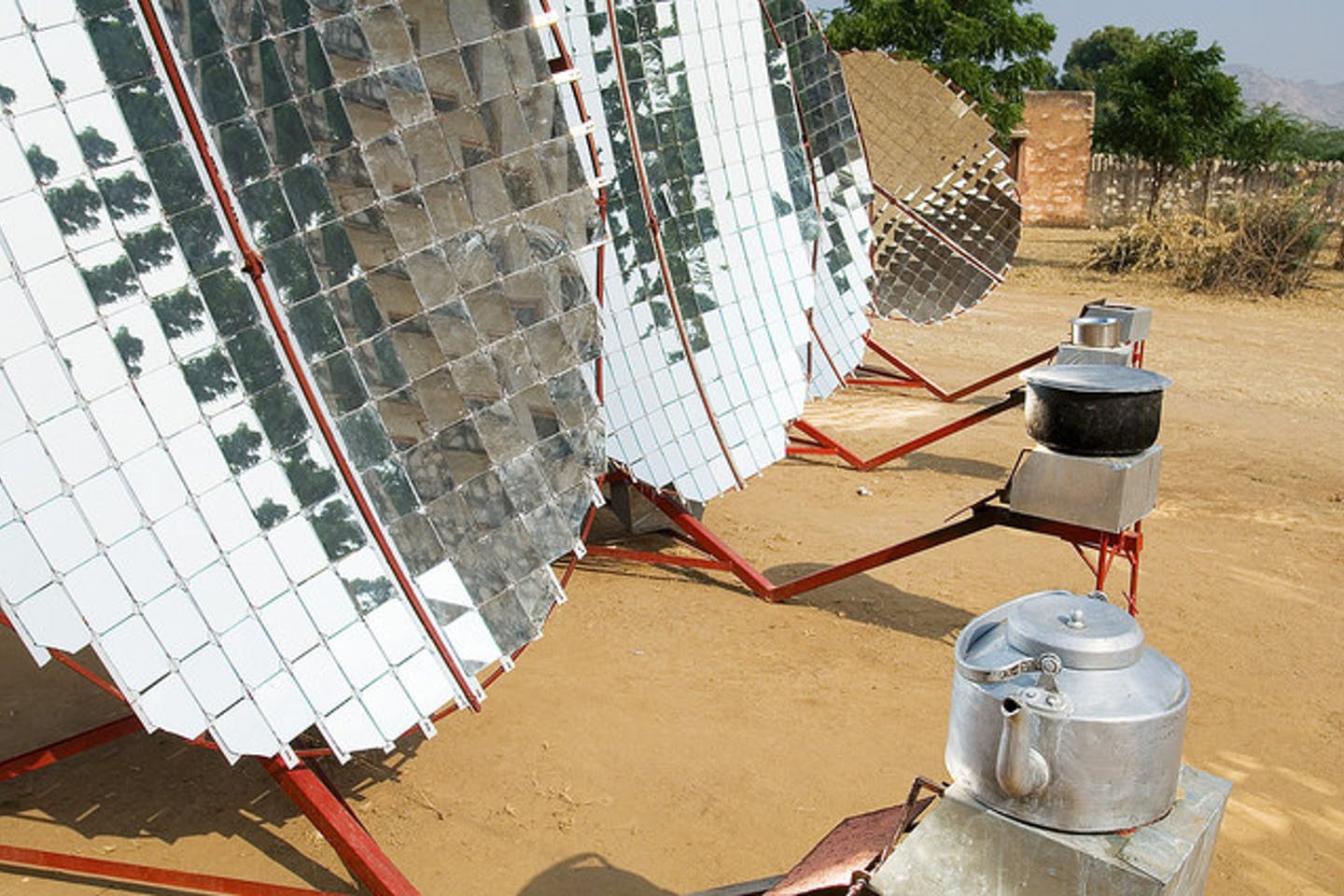 solar cookers rajasthan