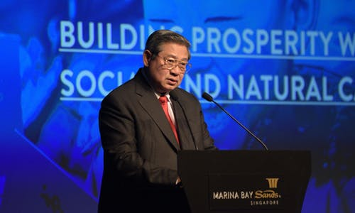 Green growth is a 'no-brainer': Yudhoyono