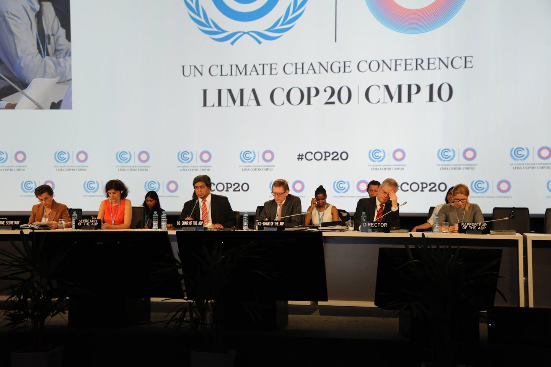 climate talks lima
