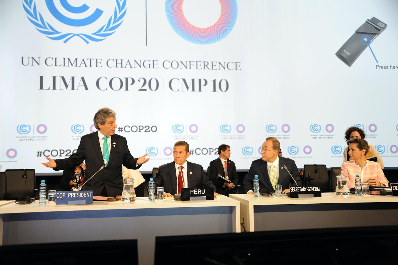 UNFCCC COP20 Lima, Peru