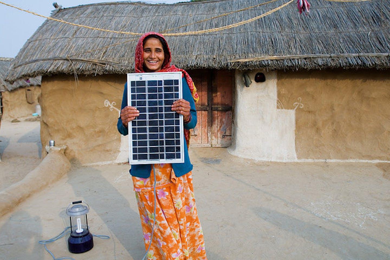 solar women engineer in India