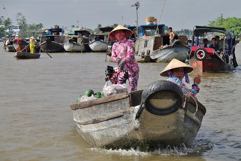 Mekong damming