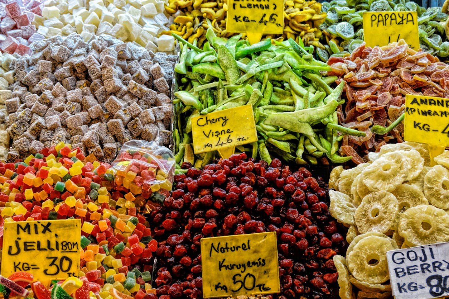 candied fruit istanbul