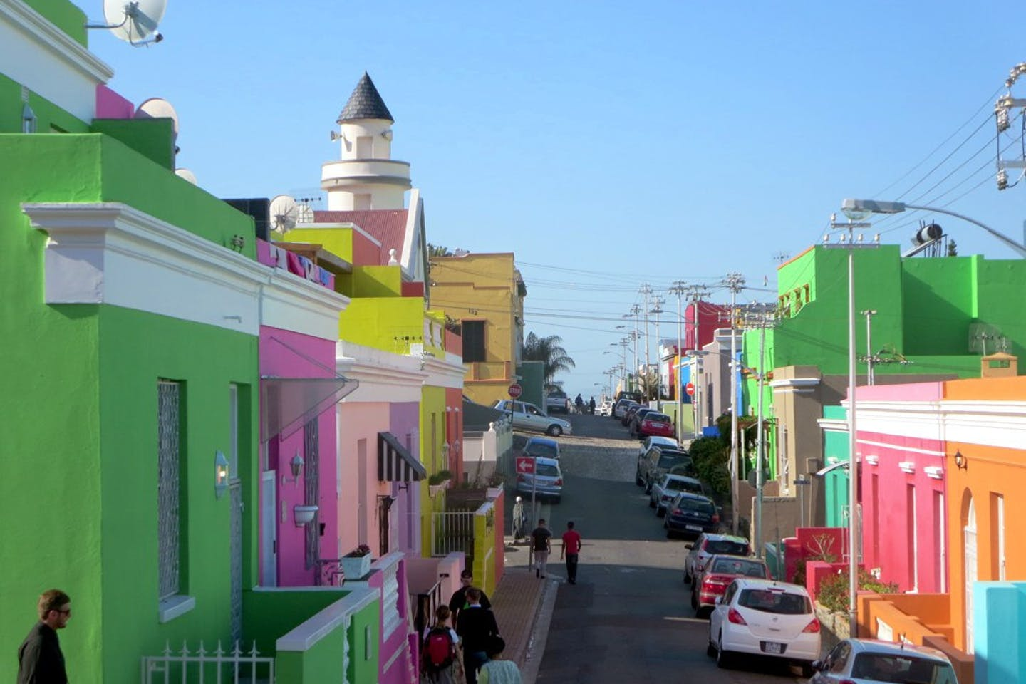 The Bo-Kaap neighborhood of Cape Town by David Stanley