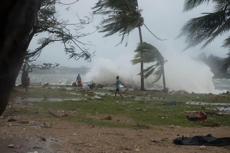 super cyclone pam vanuatu