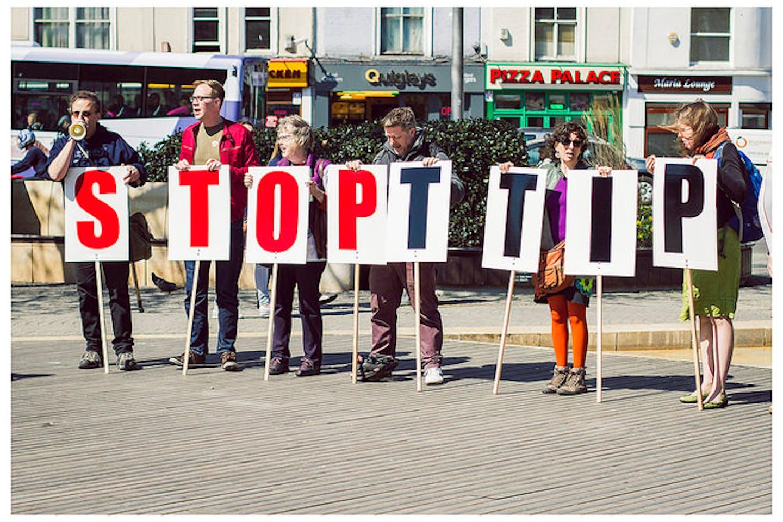 TTIP protest