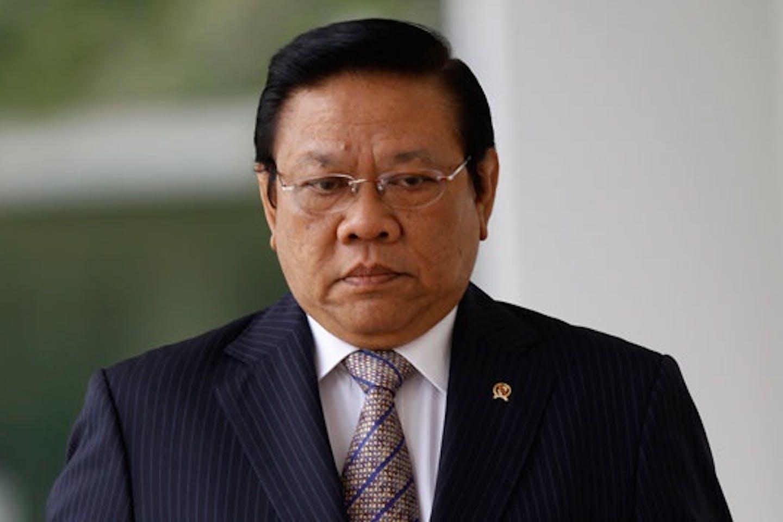 Senior Indonesian minister Agung Laksono