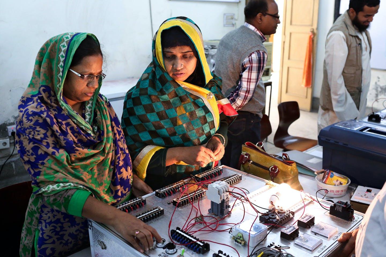 women training bangladesh