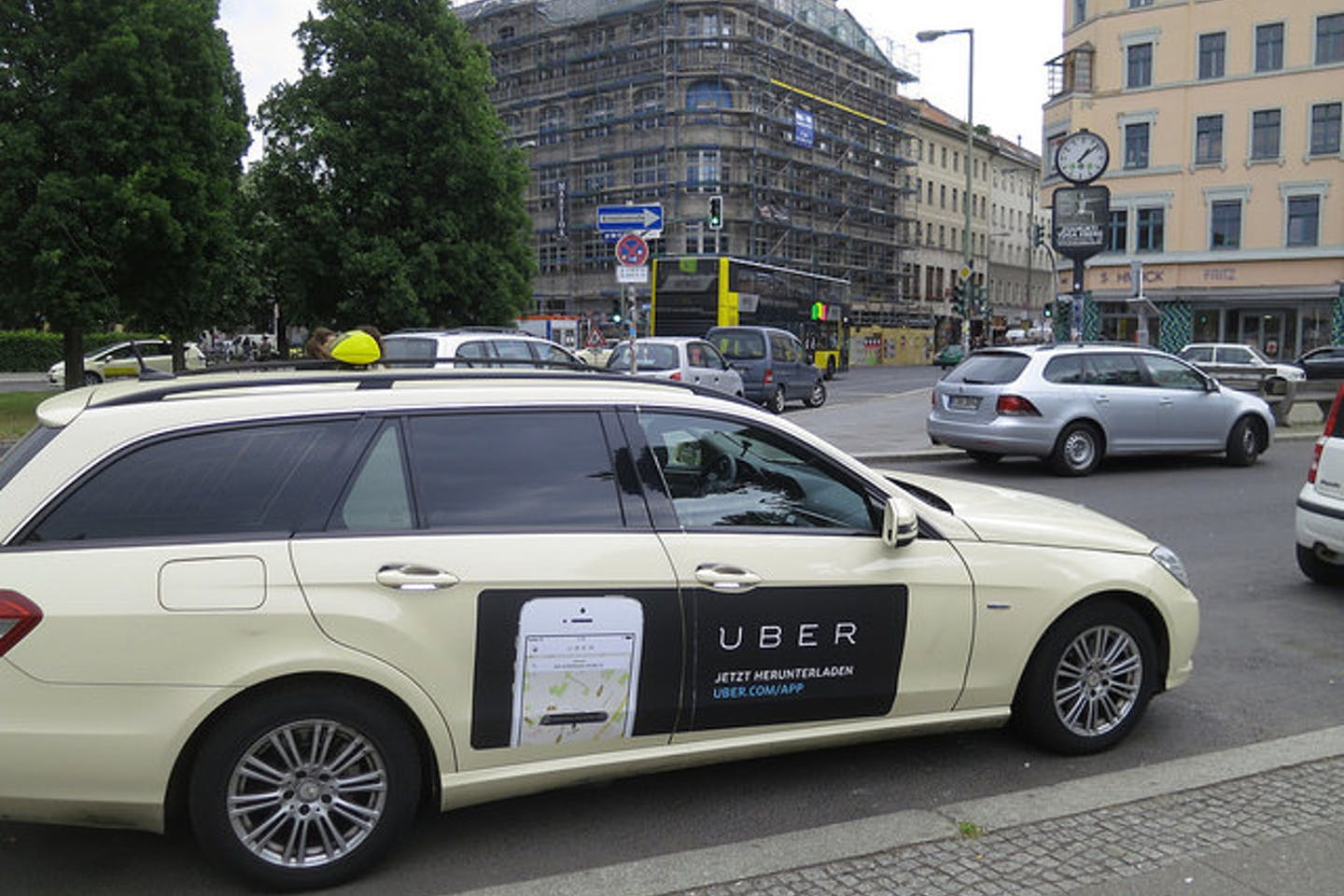 uber taxi ad