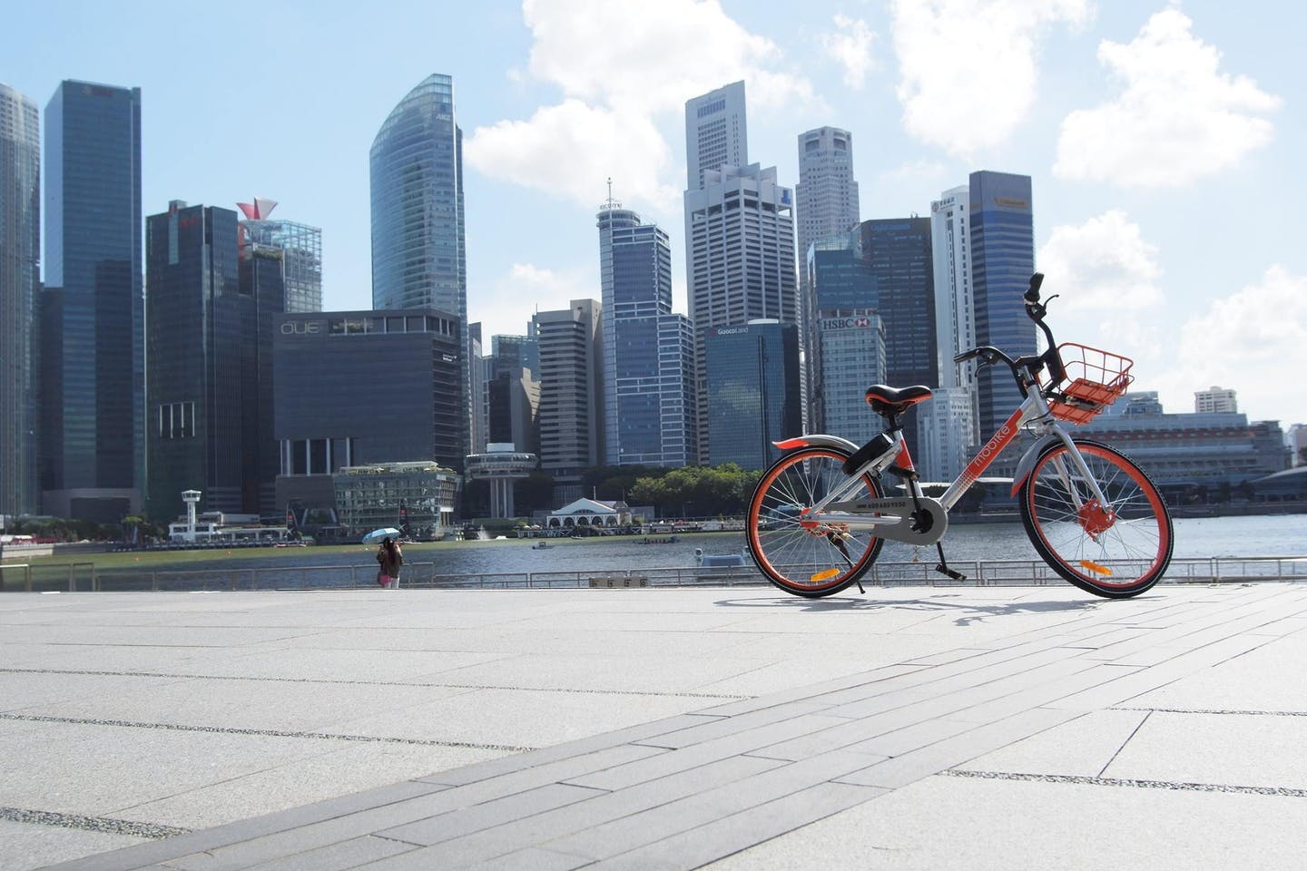 mobike in Singapore