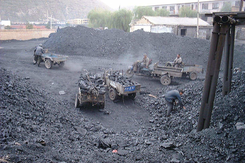 Shanxi China coal mine