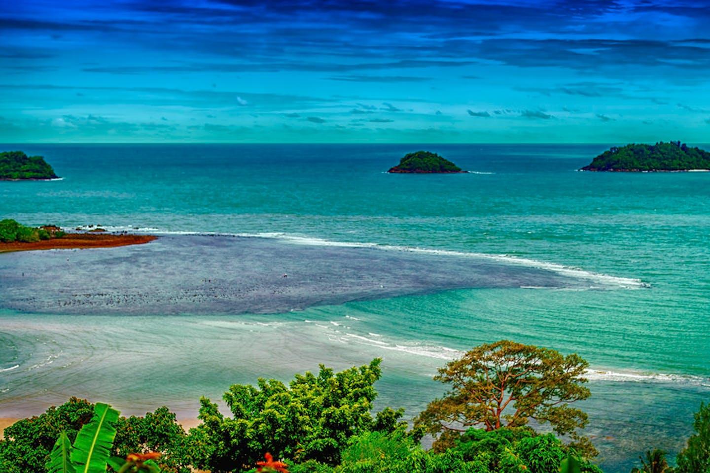 Ko Chang, Trat, Thailand ocean