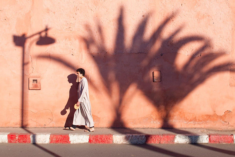 marrakesh evening stroll