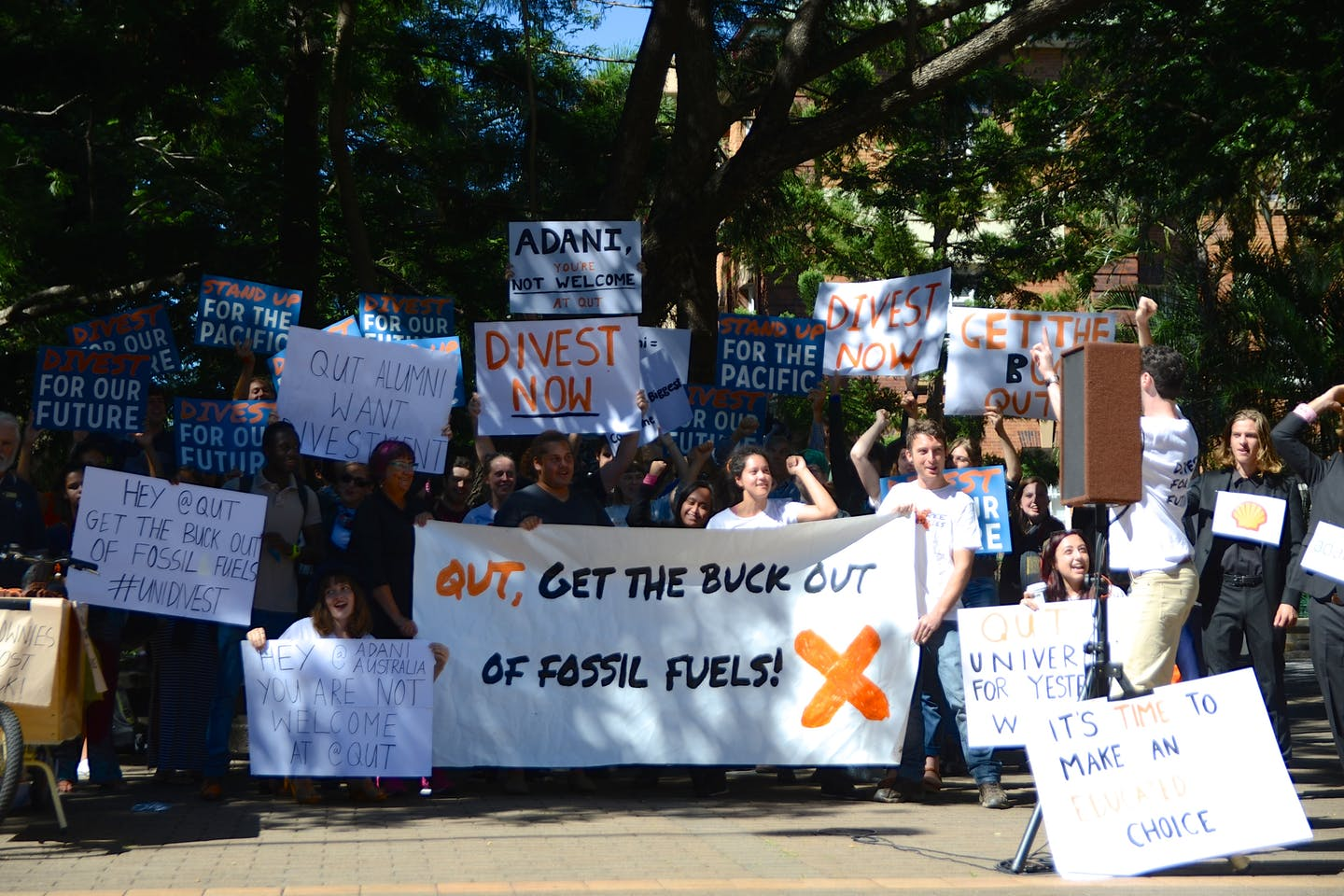 Get the buck out of fossil fuels