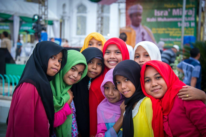 girls in Aceh ADB