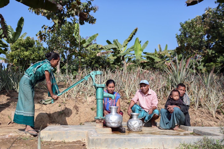 tube well bangladesh adb