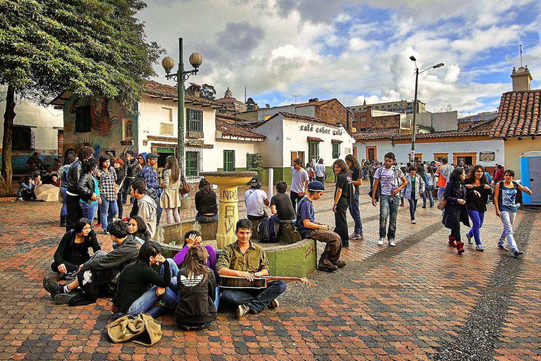 Street view La Candelaria