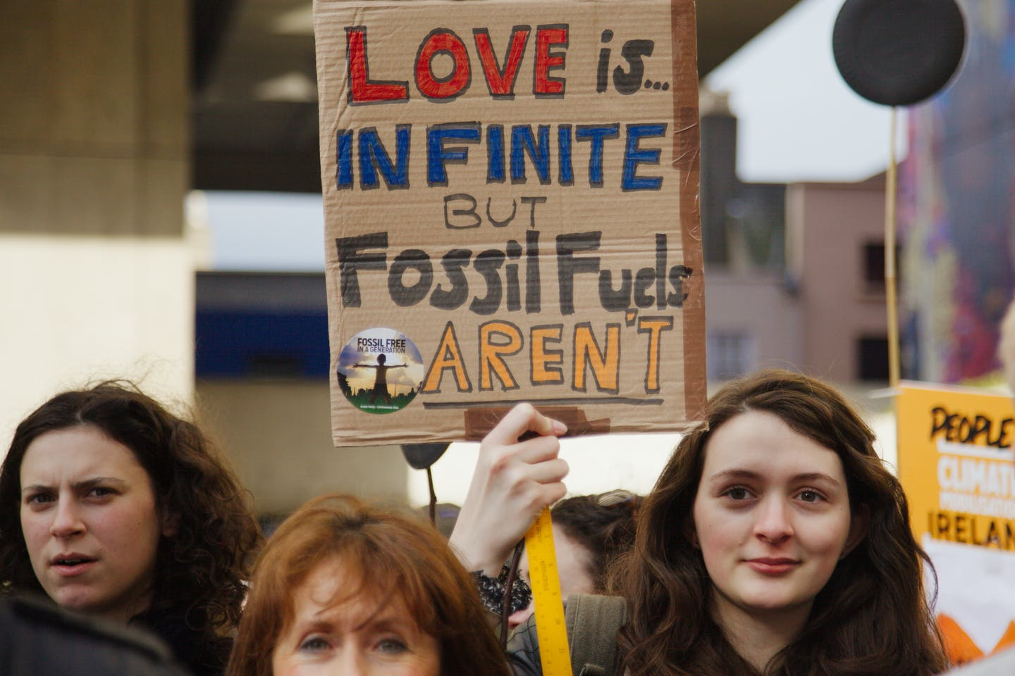 Fossil fuel divestment march on Valentine's Day 2015