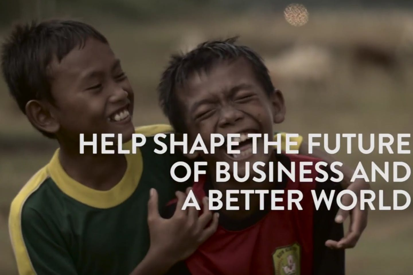 Help shape the future of business