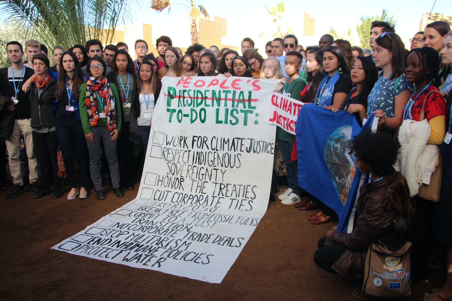 Youth at COP22 react to Donald Trump's presidency