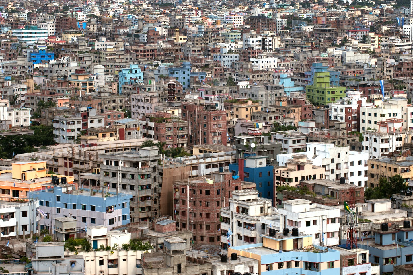 Buildings in Dhaka