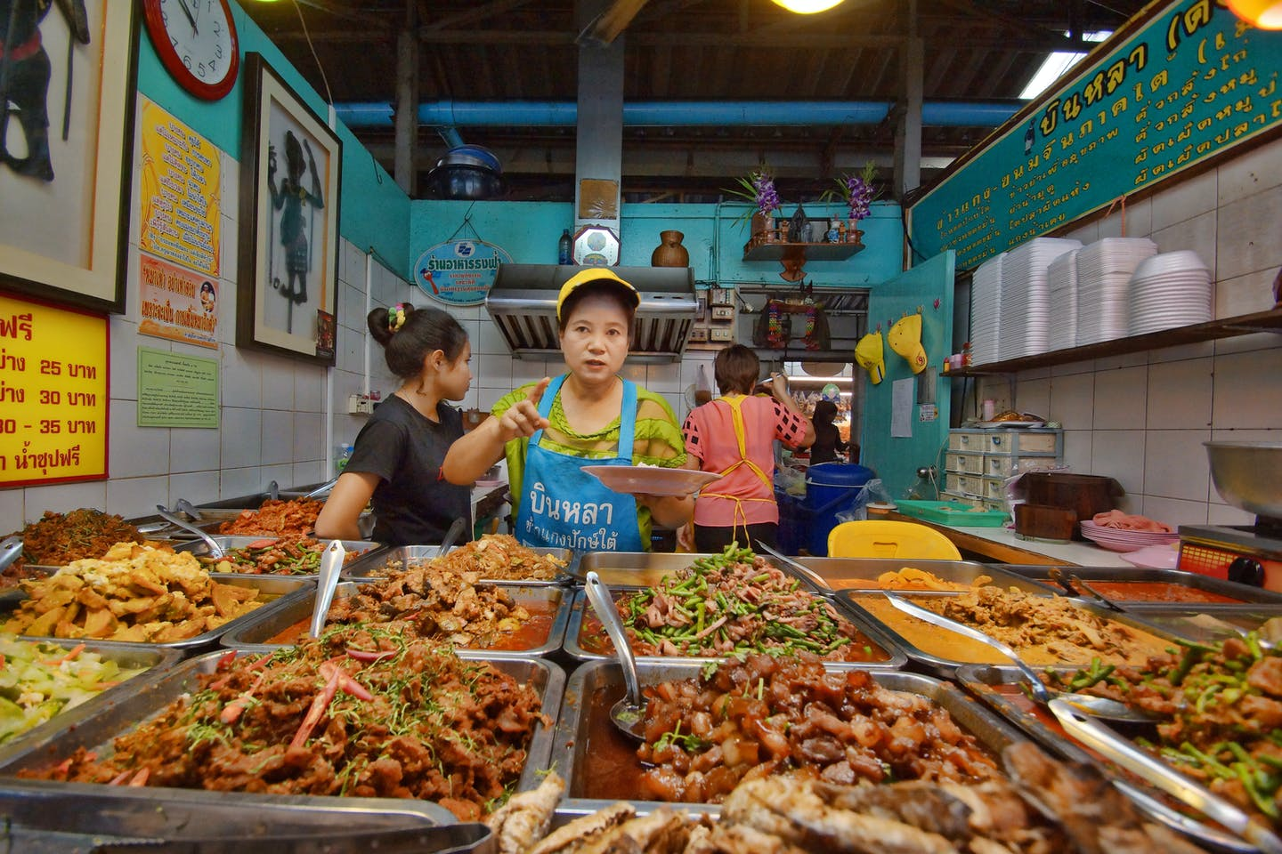 Food market in Bangkok