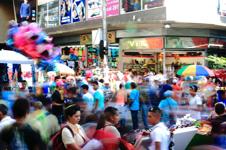 Shopping frenzy in Medellin