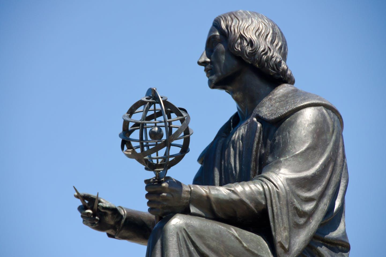 Nicolaus Copernicus in bronze