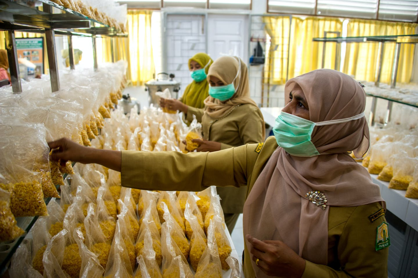 Women workers in Aceh