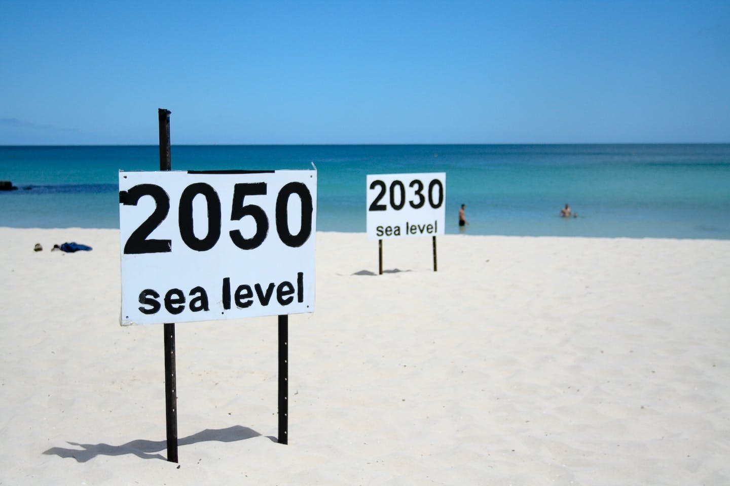 Rising sea levels are rising