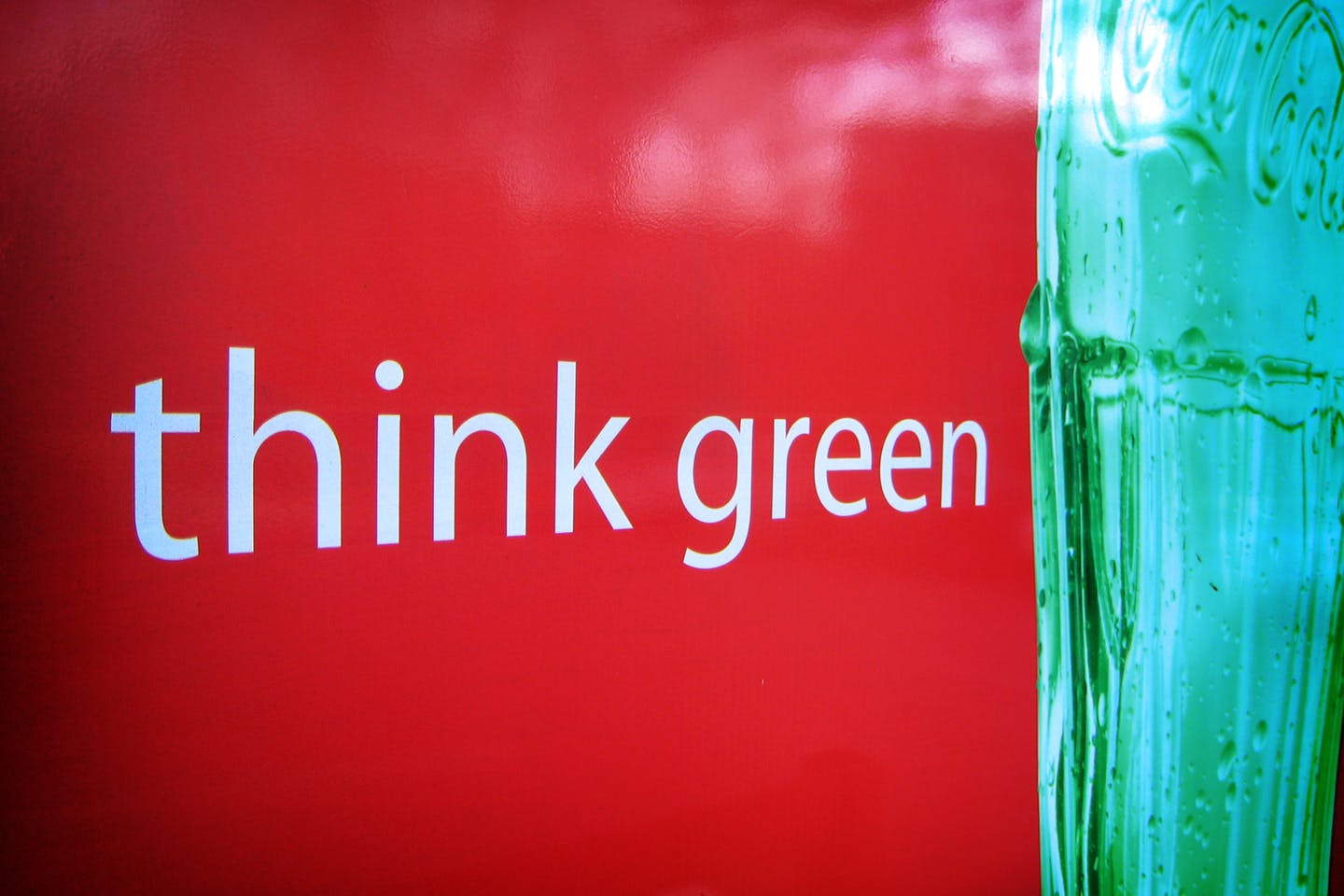 Coca-Cola wants you to think green