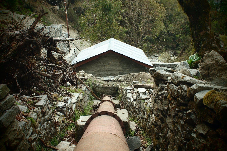 Microhydro in Temang Manang, Nepal