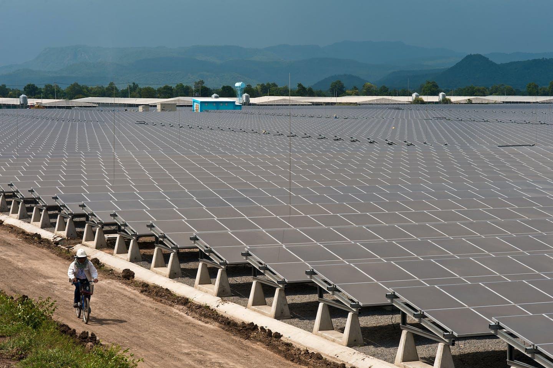 Lopburi Solar Farm, Thailand