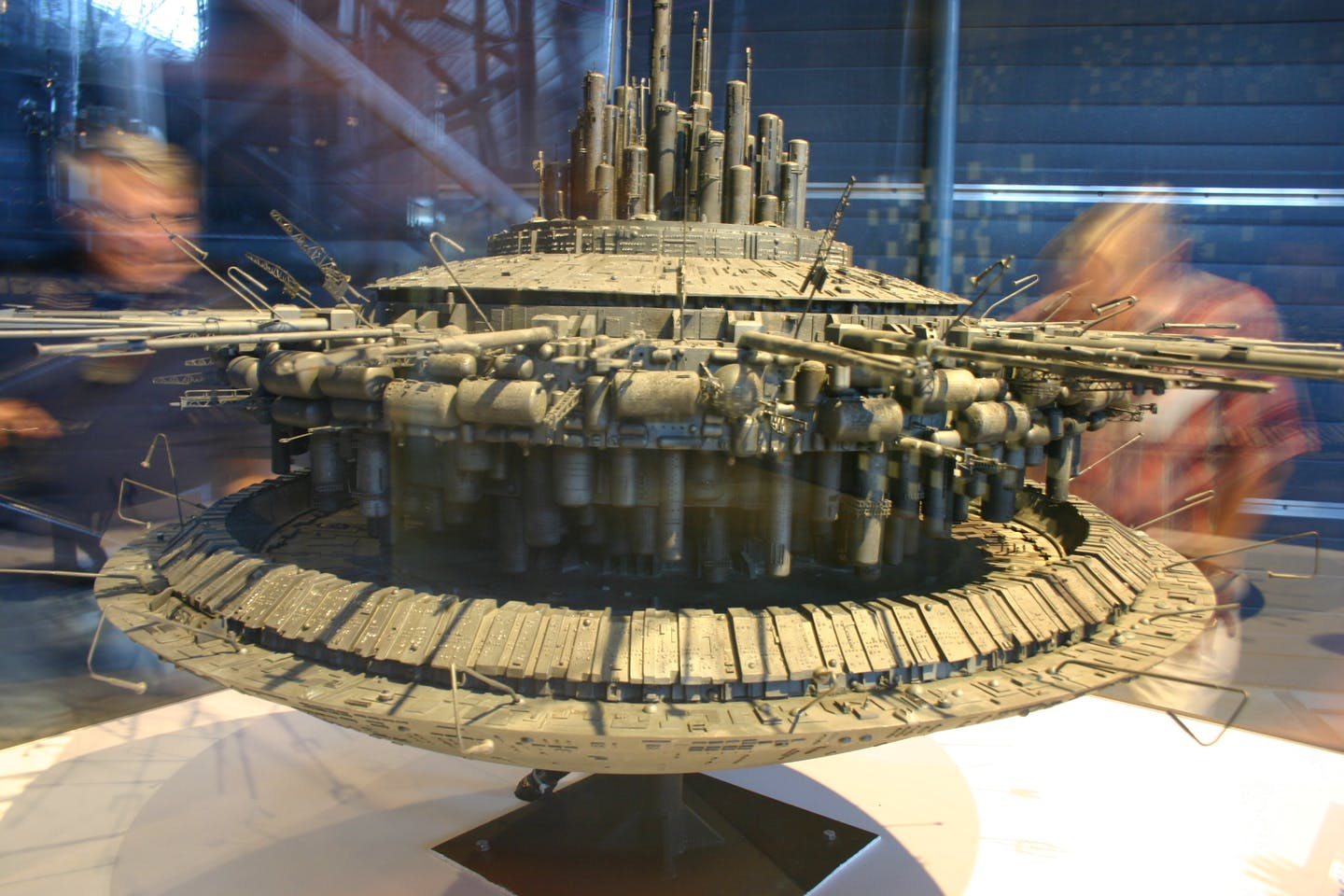 Model of the alien mothership from Close Encounters of the Third Kind