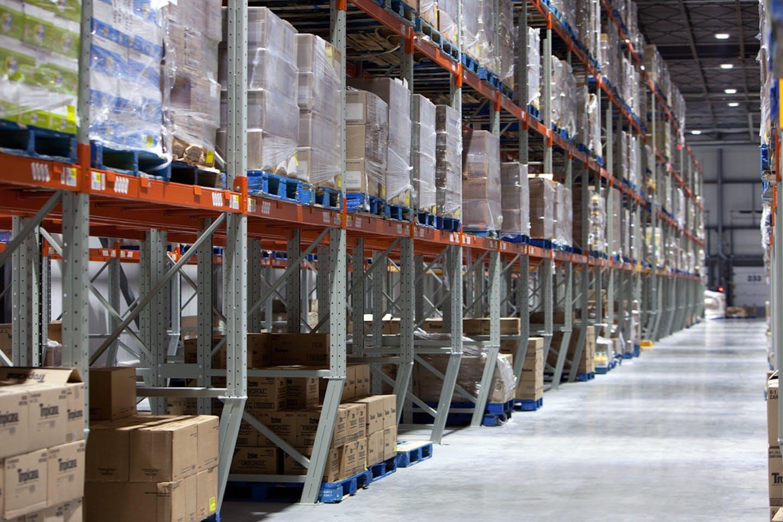 Walmart warehouse supply chain