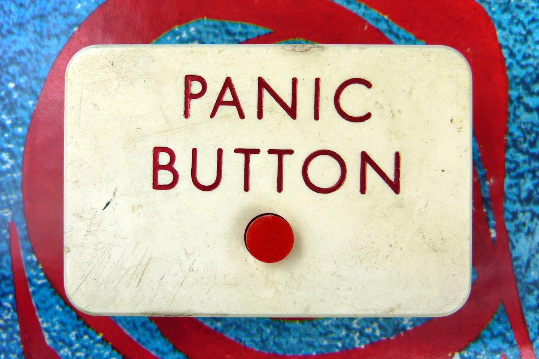 Push the panic button