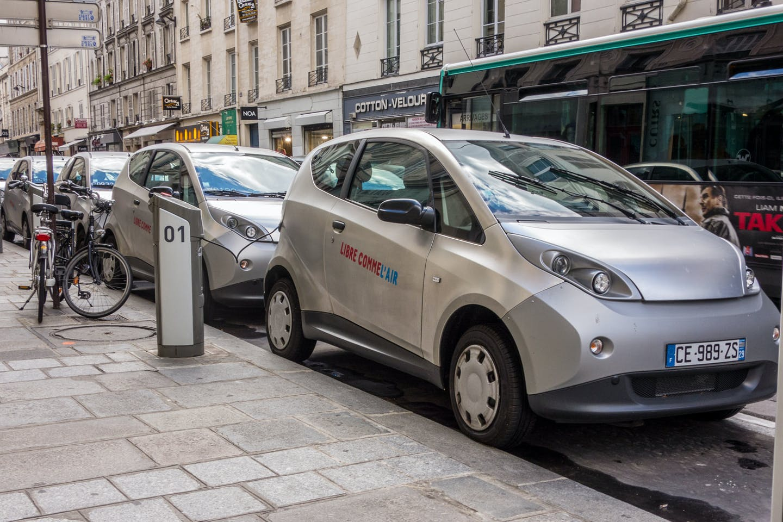 EV carsharing in France