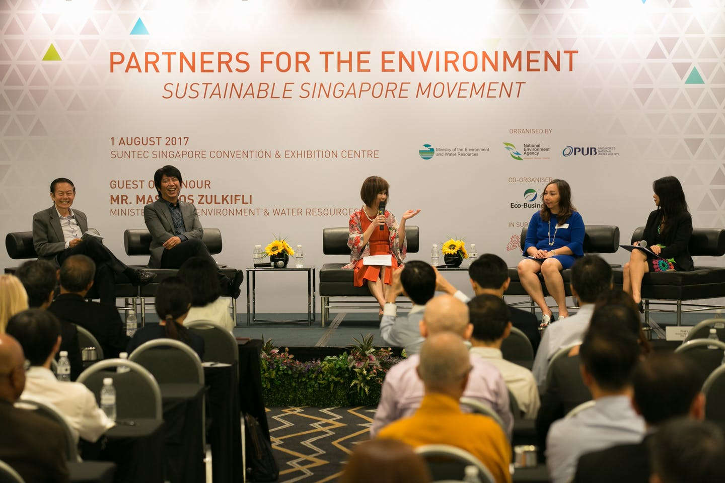 Partners for the Environment 2017 closing plenary
