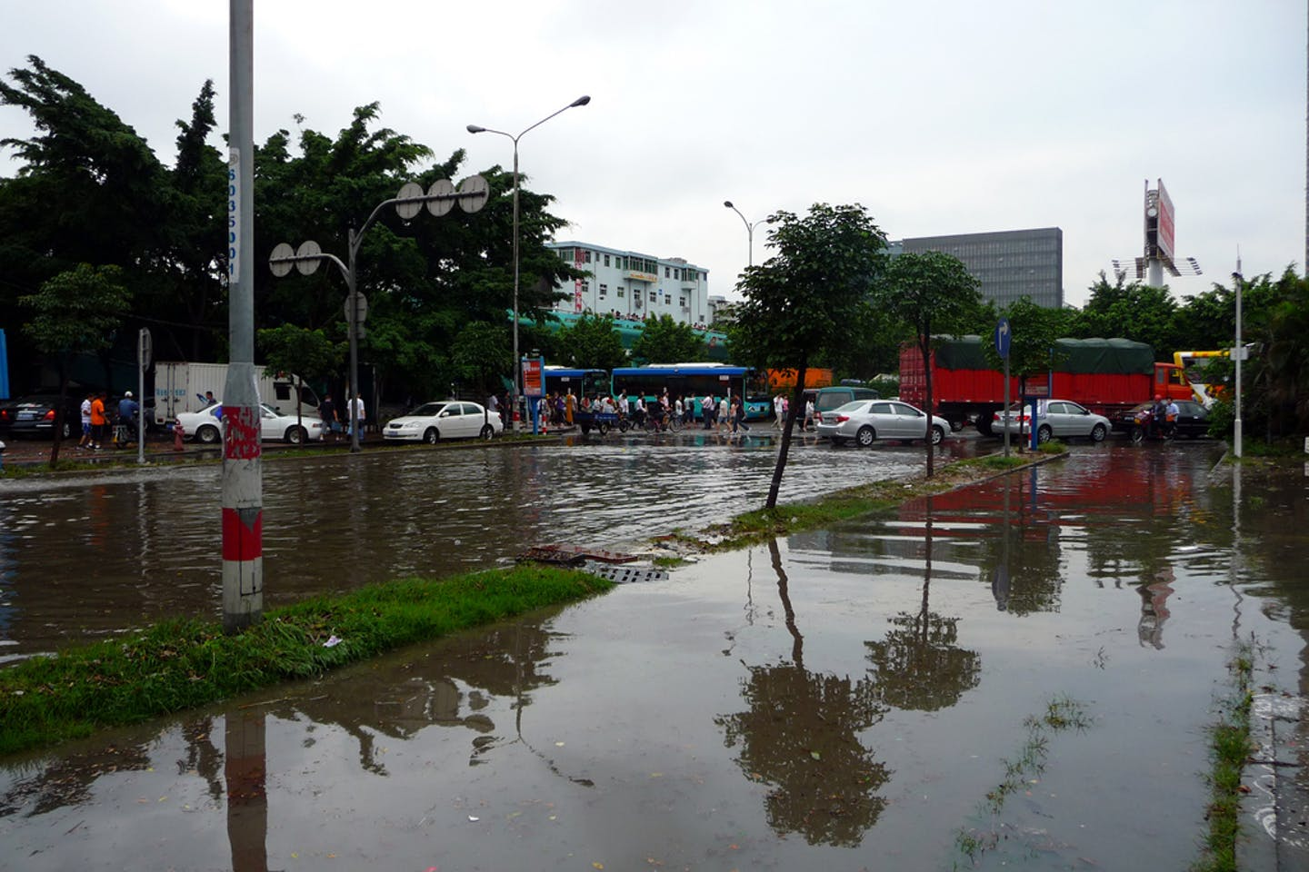flooding in shenzhen, china