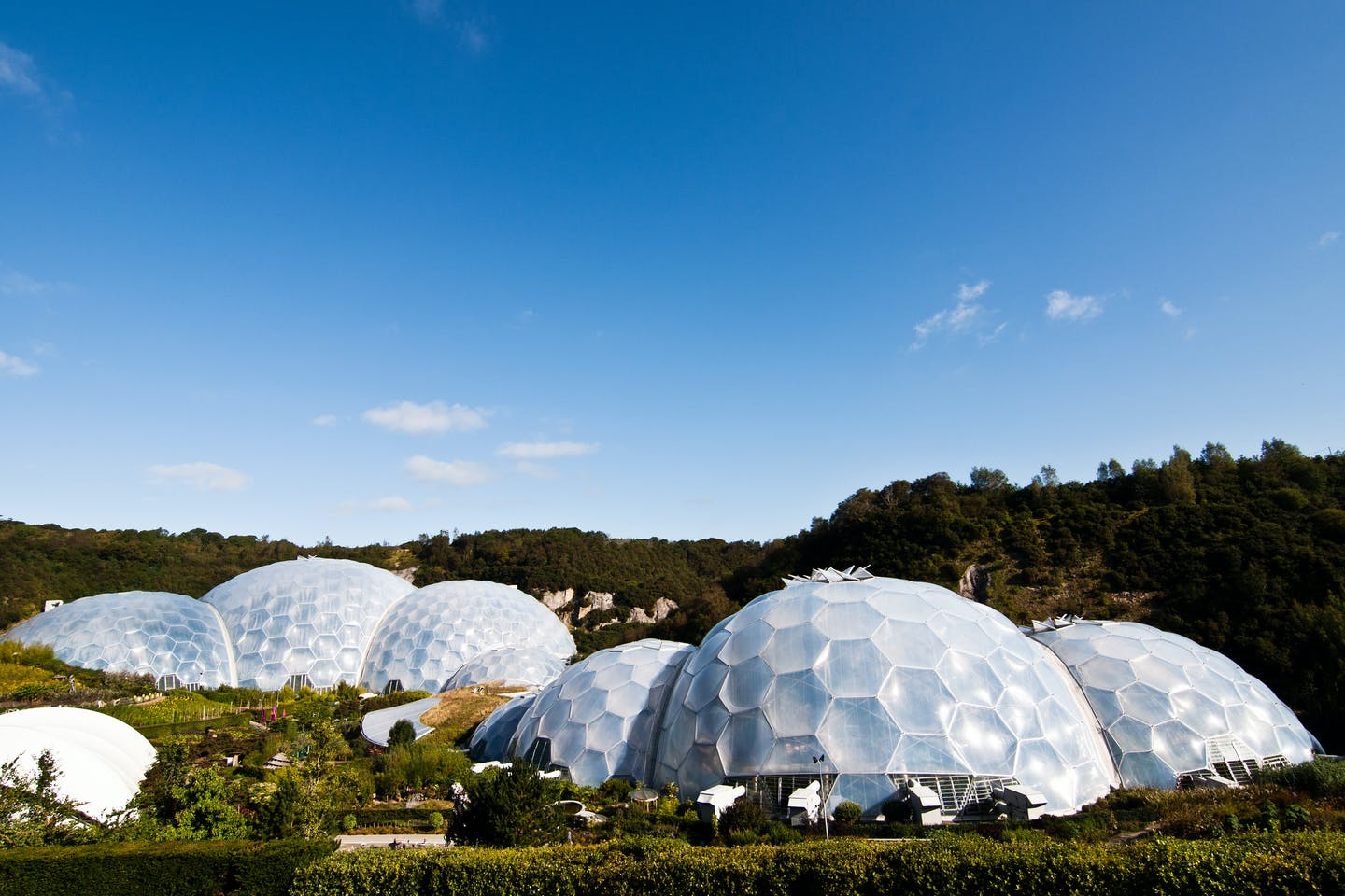 Eden Project in Cornwall, England, United Kingdom, Europe